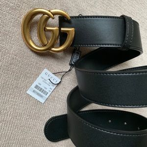 »New Gucci Belt Aúthentic Double G Marmot GG